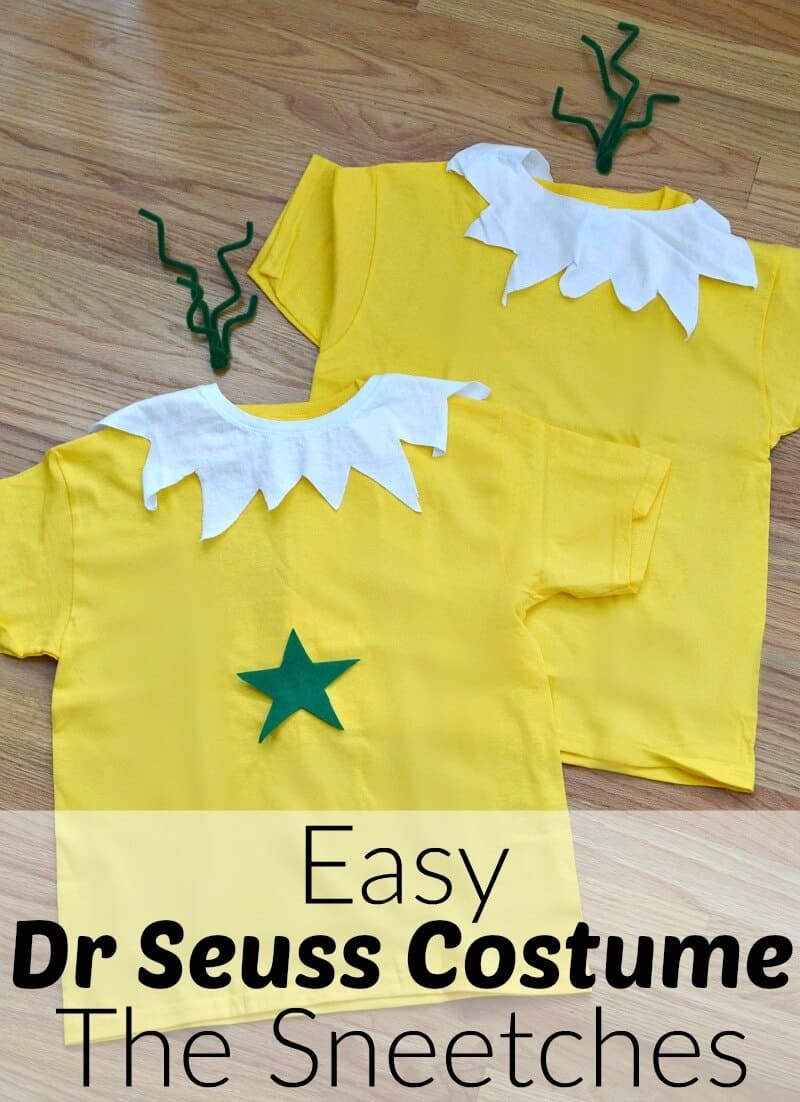Easy Dr Seuss Costume For The Sneetches Star Belly Sneetch