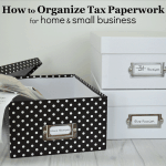 How to Organize Tax Paperwork