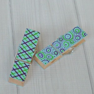 Wooden Clothespin Crafts for Father's Day or Any Occassion