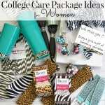 Make an easy DIY fabric headband as part of college care package ideas for women to go with a pampering care package. #FiercelyCleanPores [ad]