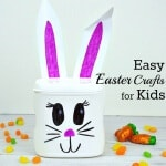 Easy Easter Craft for Kids from a Recycled Can