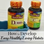 Develop Easy Healthy Living Habits