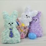 Plush Marshmallow Stuffed Bunny