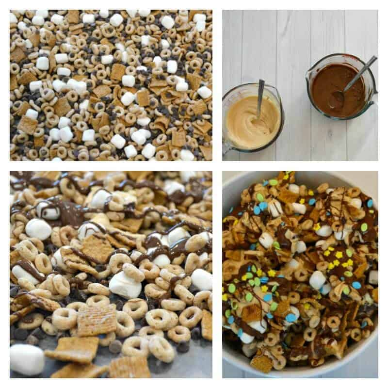 Cereal Snack Mix Recipe