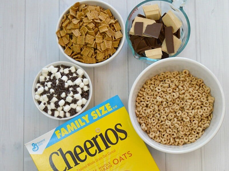 Cheerios Snack Mix Ingredients