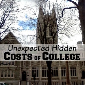 How will you pay for college? Are you aware of the unexpected hidden costs of college? Knowing them will help you budget and determine the best way to fund your college expenses. #CollegeAveLoans [ad]