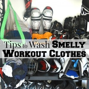 Tips to Wash Smelly Workout Clothes & Mesh Laundry Bag Tutorial