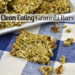 Clean Eating Granola Bars