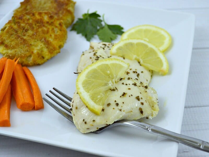 Clean Eating Recipes -Chicken This Greek Lemon Chicken is easy to make and always a hit with my family.