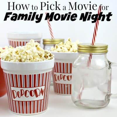 How to Pick a Family Movie