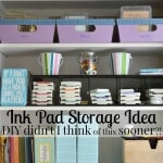 Ink Pad Storage Idea