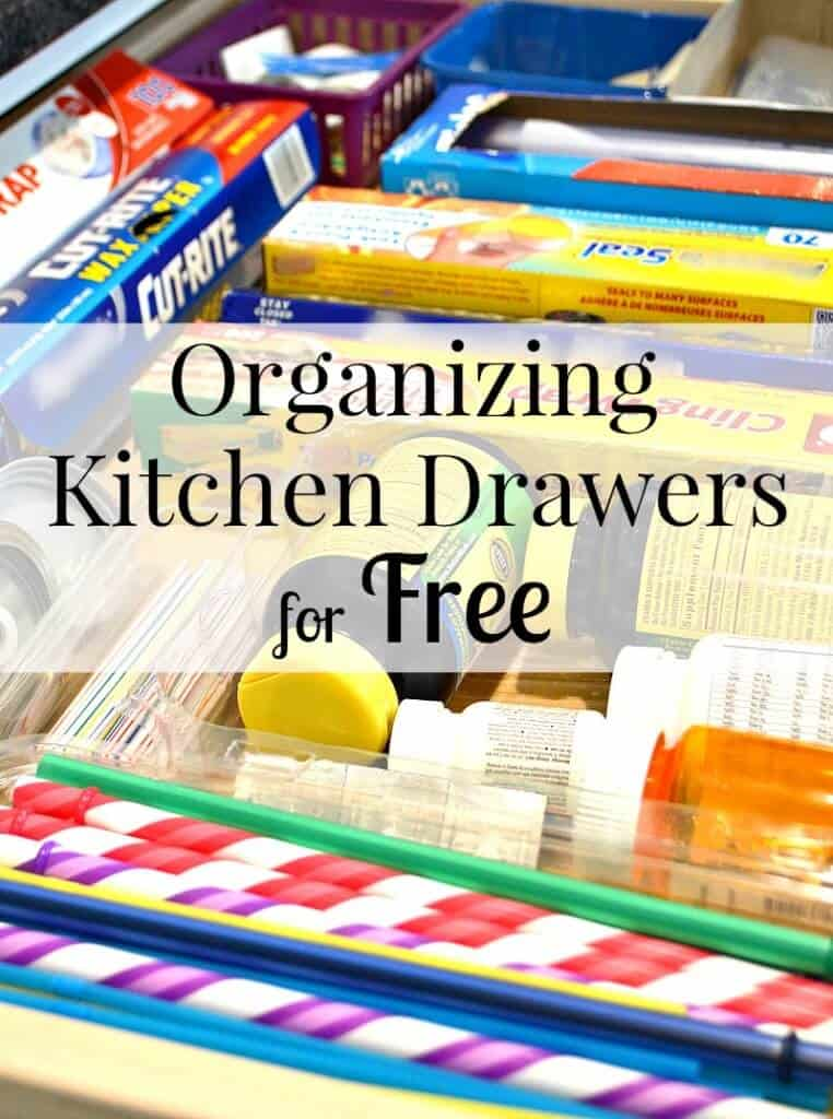 drawer with kitchen wrap boxes neatly organized