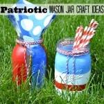 Patriotic Mason Jar Craft Ideas