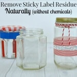 Remove Sticky Label Residue Naturally