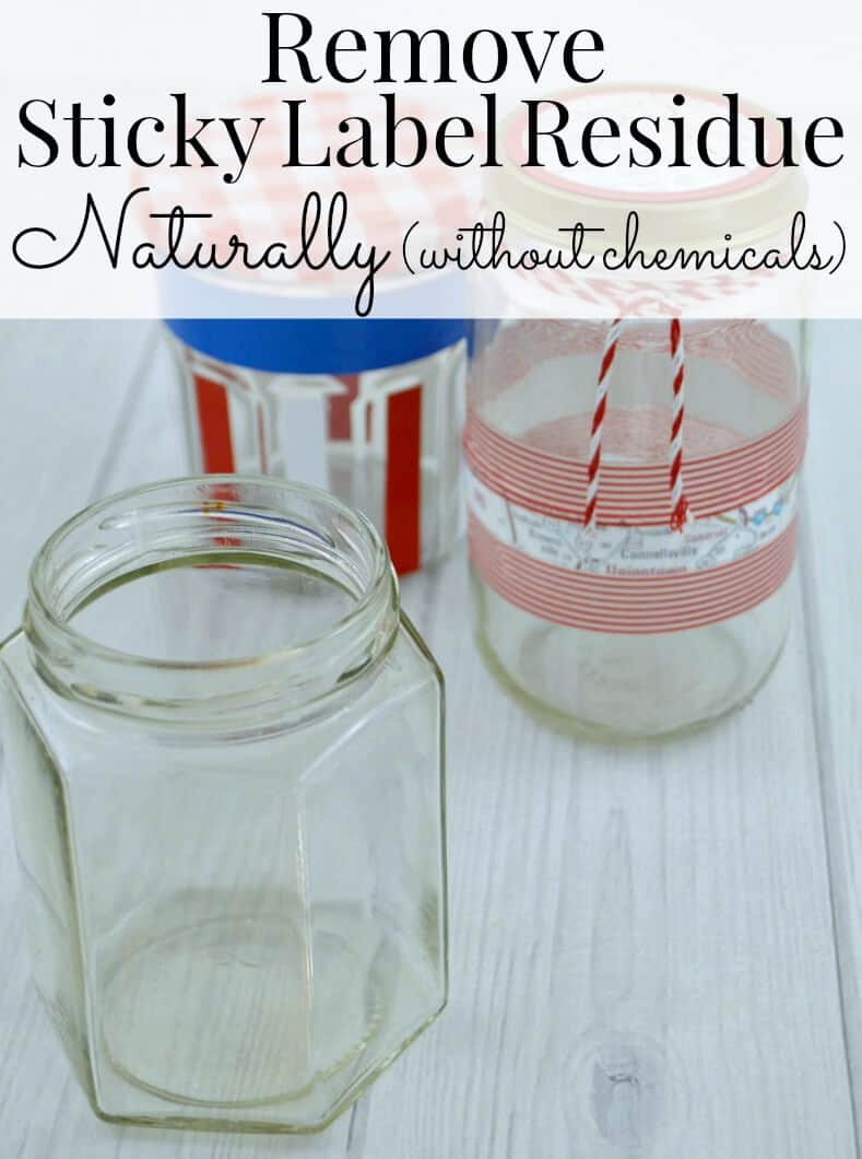 How to remove sticky label residue naturally without chemicals. Removing labels from glass and plastic jars lets you repurpose them for organizing or crafts.