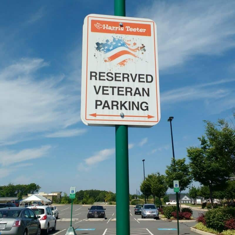Harris Teeter Veteran parking