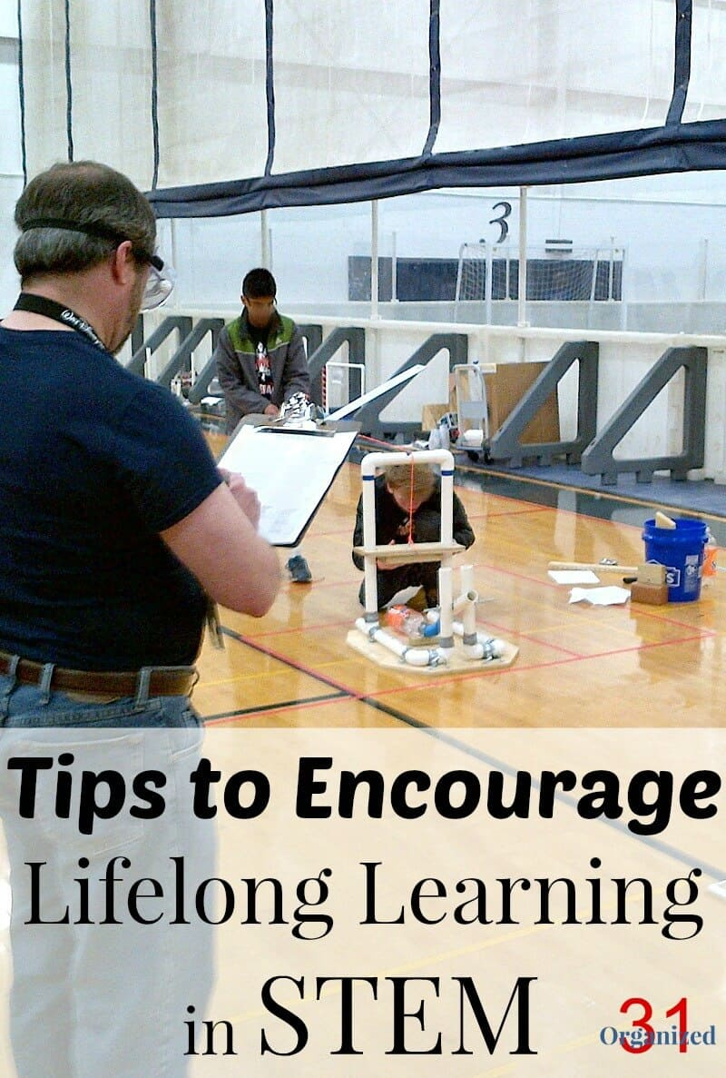 "Eight tips to encourage lifelong learning in STEM subjects from a parent educator and mother of three. Parents can encourage an interest in science, technology, engineering and math or ""STEM"" in their children by making simple choices. #Learn365 #IC [ad] 