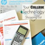 College Technology Shopping List Free Printable Checklist