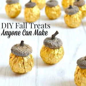 DIY Fall Treats Anyone Can Make – Really