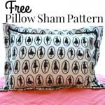 Free Pillow Sham Pattern