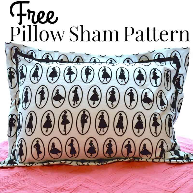 Pattern For Pillow Sham Free: Free Pillow Sham Pattern   Organized 31,