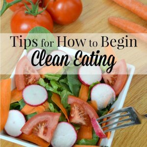 Tips for how to begin clean eating. Easy tips to ease into cleaner eating. #SavorSummer #TasteWhatMatters [ad]