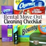 Rental Move Out Checklist for Cleaning