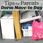 Dorm Move-In Day Tips