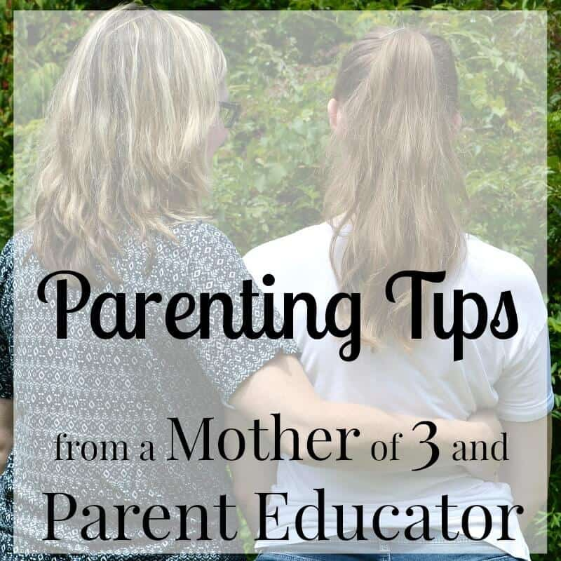 Parenting Tips from a mother of 3 and parent educator with 20+ years of experience.