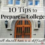 10 Tips to Prepare for College
