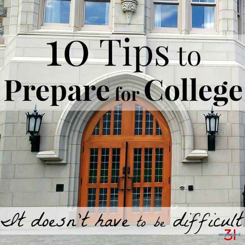 College preparations can be easy with these 10 tips to prepare for college. #PrimeStudent #CG [ad]