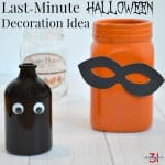 Last-Minute Halloween Idea
