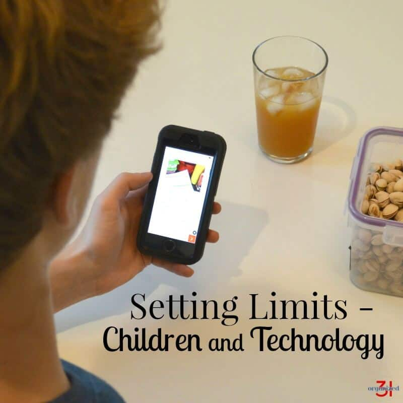 Tips for teaching digital responsibility and setting limits for children using technology. #TheSmartTalk #CG [ad]
