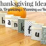 blocks spelling thankful and pumpkin on wood table