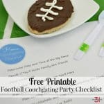 Football Couchgate Party Ideas