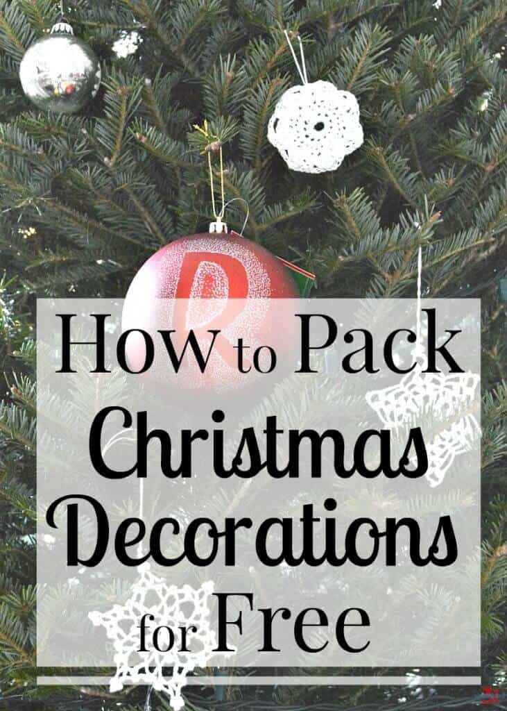 learn how to pack christmas decorations for free and protect your treasured ornaments and decorations when