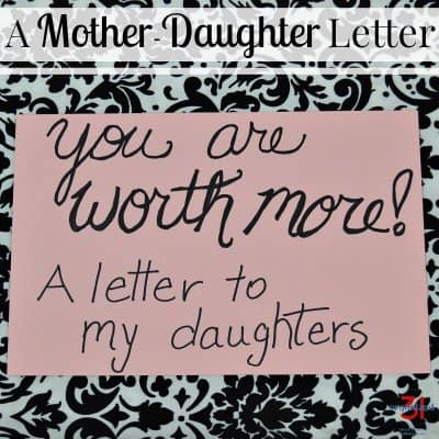 A Mother Daughter Letter for My College-Aged Daughters