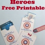 Thank a Veteran Cards Free Printable