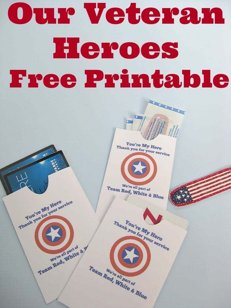 Thank our veterans with this free printable