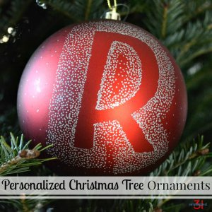 Make these sophisticated personalized Christmas tree ornaments to make a big impact and as easy-to-make gifts.