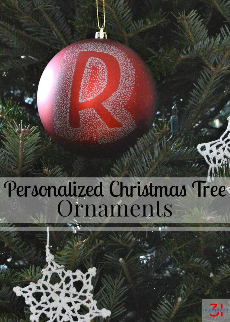 Personalized christmas tree ornaments organized 31 for Custom christmas tree ornaments