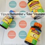 How to Remember to Take Vitamins