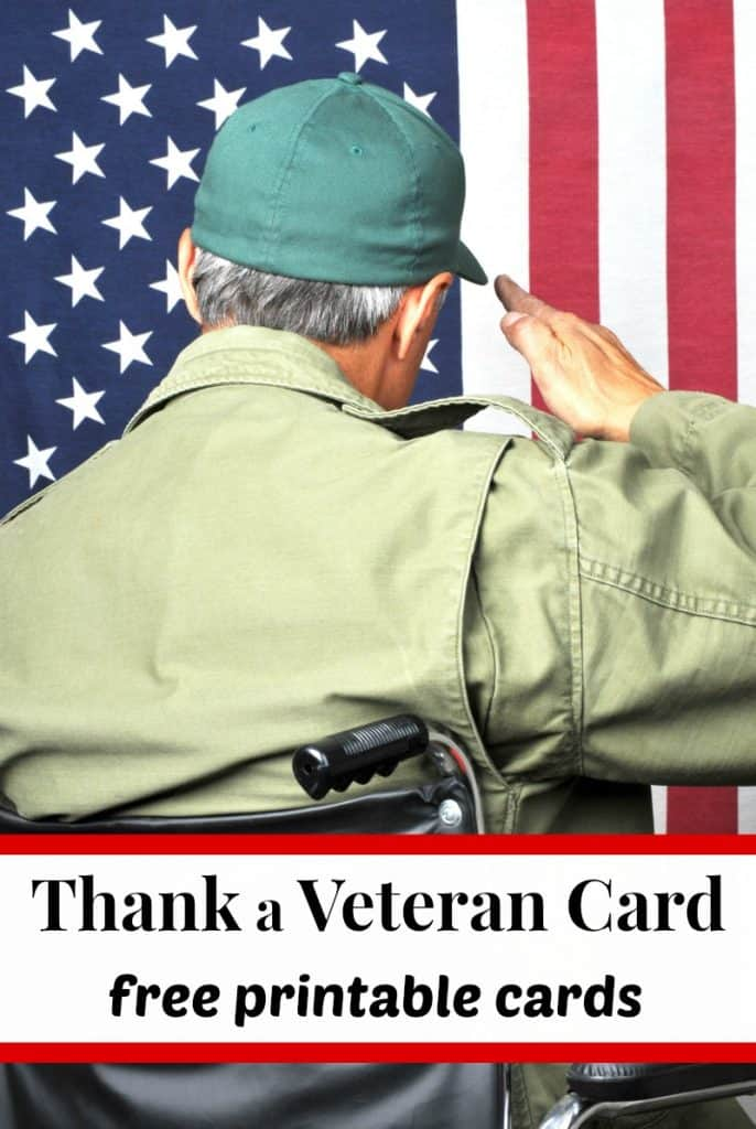 American veteran in wheelchair and fatigues saluting flag