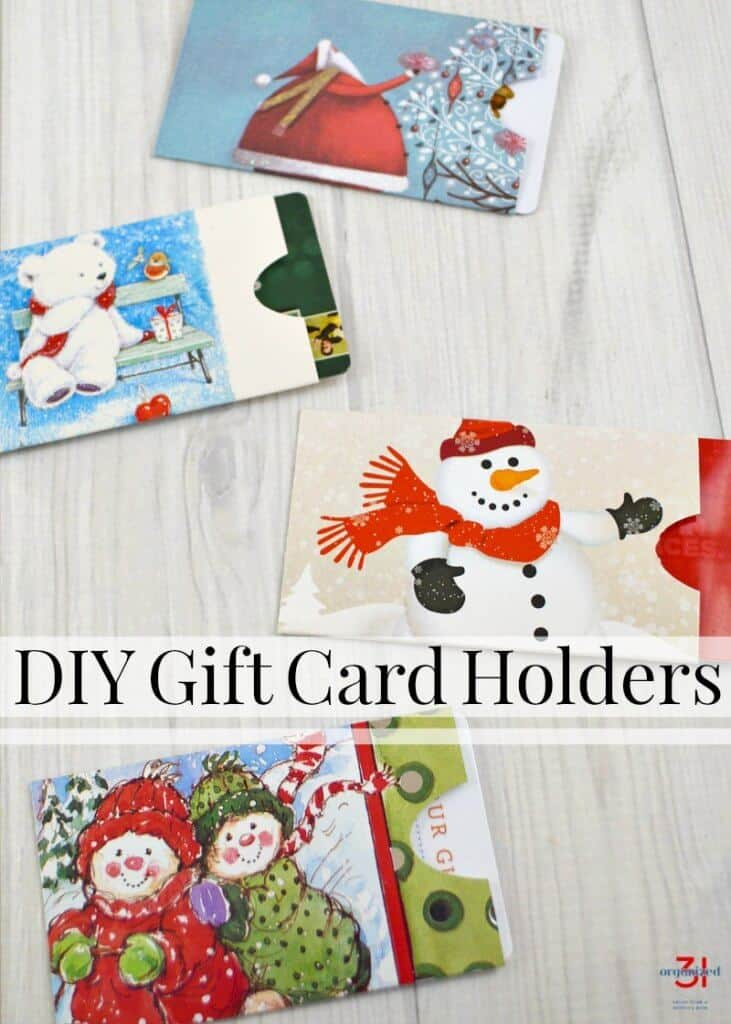 Make your own DIY gift card holders from recycled Christmas cards. They're easy to make, frugal, earth-friendly and adorable.