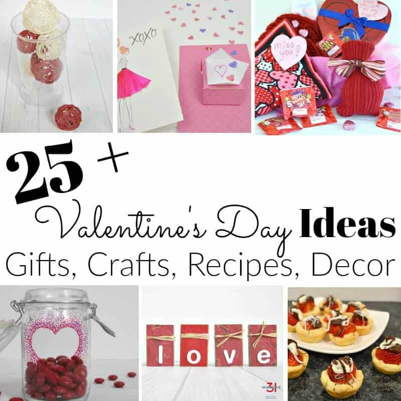 Valentine's Day is a wonderful time to show loved ones and friends how much you care for them. More than 25 handmade gifts, crafts, decor and recipes show your affection.