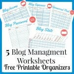 Blog Management Printables
