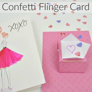 Confetti Flinger Card Insert