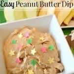 Easy Peanut Butter Dip Recipe
