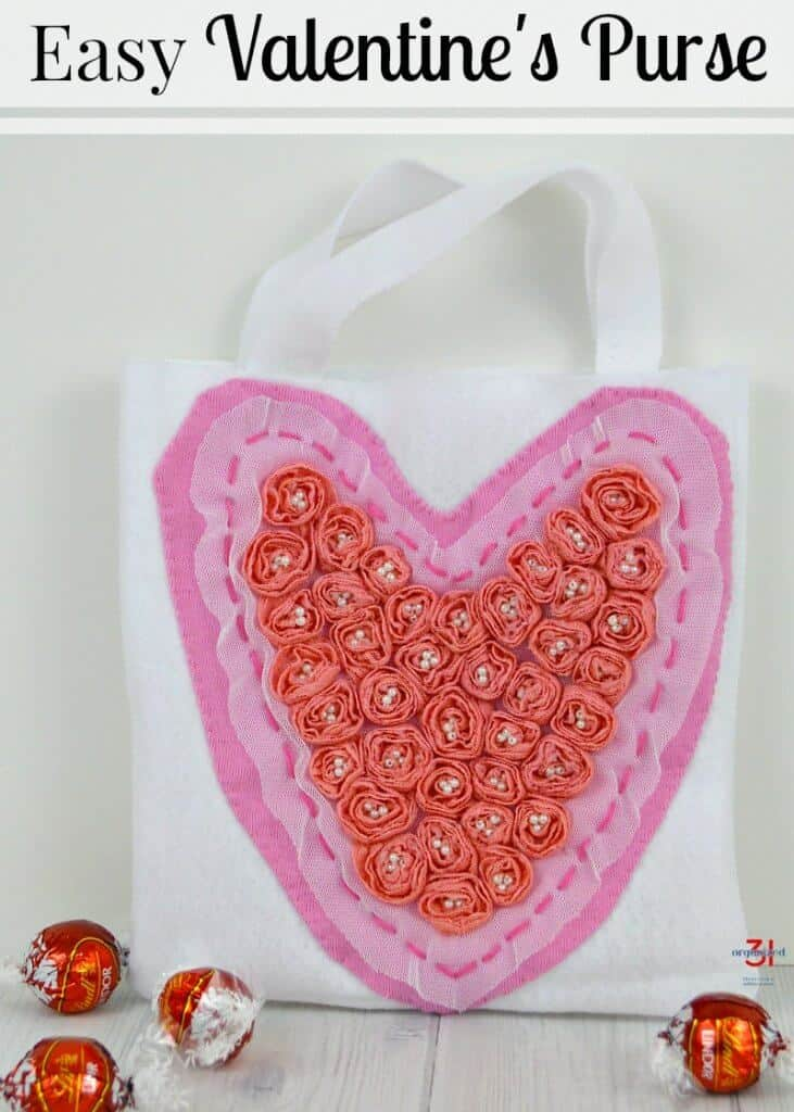 51d48e7177 Easy Valentine's Bag - Organized 31