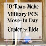 Tips to Make Military Move-in Day Easier for Kids